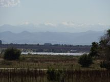 Cherry Creek Lake With Rocky Mountains