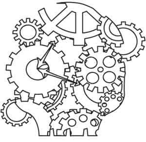Steampunk Skull design (UTH1737) from UrbanThreads.com