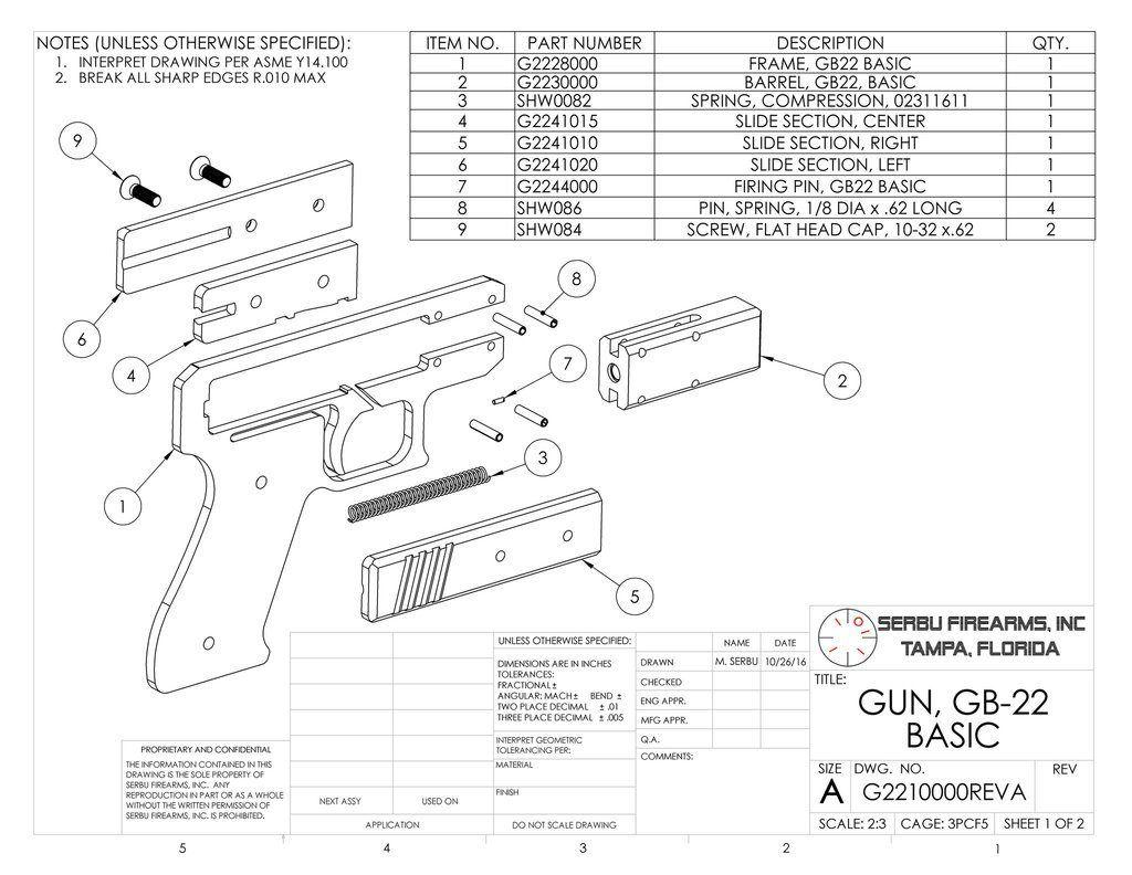 Do It Yourself Gunmaking With The Serbu Gb 22