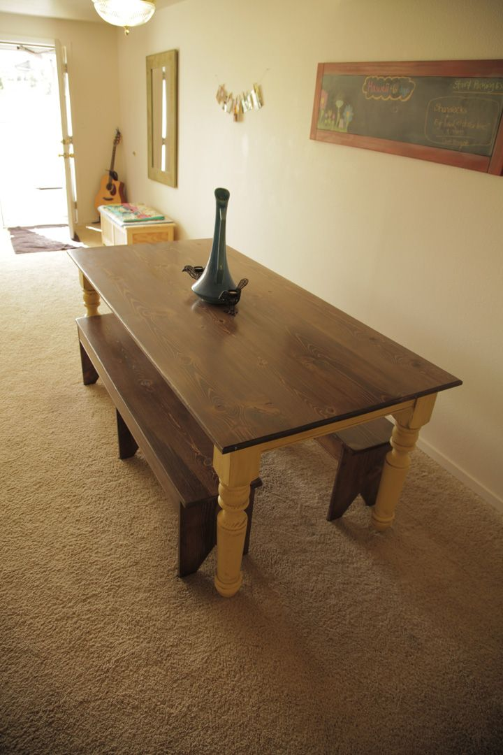 Turned Leg Farmhouse Table Plans Turned Leg Farmhouse Table @cindy Fraher...a Project For