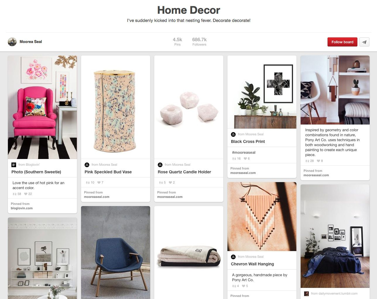 12 Home Decor Pinterest Boards That Will Inspire Your Dream Home
