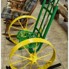 Wagon Wheel Chair Ultimate Office John Deer Have Most Of The Parts Wonder If Hubby