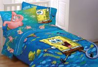 Spongebob Squarepants Fish Swirl Full Bedding Set - Sponge ...