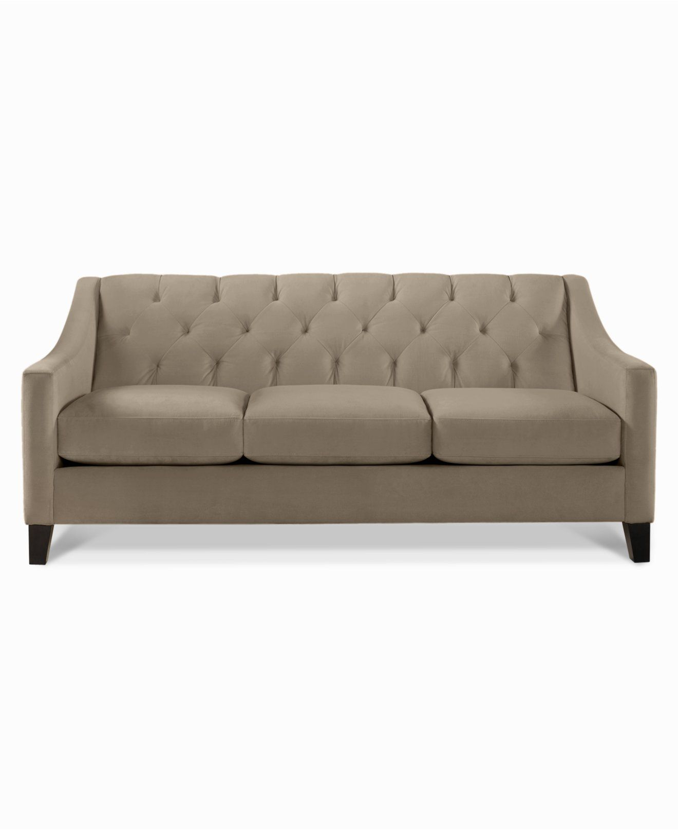 tufted sofa set brown sofas decorating ideas chloe velvet couches and furniture