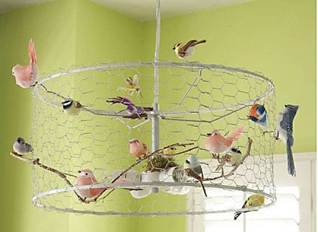 Hot On Pinterest The Diy Bird Cage Chandelier Everyone S Talking About