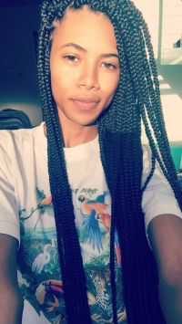 Small box braids, skinny box braids, hairstyles, long box