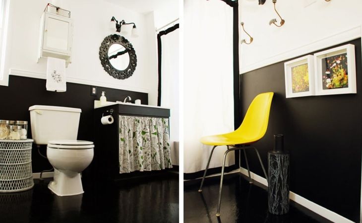 wallpaper hd yellow and black bathroom for mobile phones am in love with the idea of creating a white