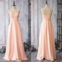 Chiffon Bridesmaid Dresses Blush Pink   www.pixshark.com ...