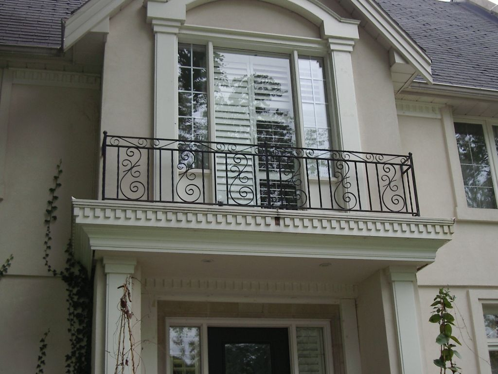 Iron Balcony Railing Design Ideas Ablazefanzine Com Pinterest
