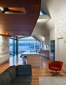 Seaview house is  contemporary three story property designed by parsonson architects sited over the botanical gardens in wellington new zealand also ltd      concept pinterest rh