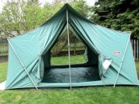 Old canvas tent. | Up North :) | Pinterest | Coleman tent