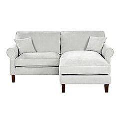 Delta Sofa Debenhams Leather Armless Velour Chaise Corner S Chair