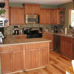 Maple Countertops Kitchen Garbage Disposal Cabinets And Hickory Floors Google Search