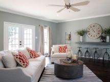 Joanna Gaines Fixer Upper Living Rooms Paint Colors
