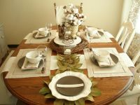 Table Setting Ideas Kitchen House Ideas Nature Inspired ...