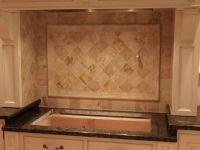 Travertine kitchen backsplash in Lebanon | Kristins House ...