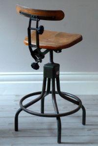 Vintage Evertaut Industrial Stool c. 1940s. | Home Sweet ...