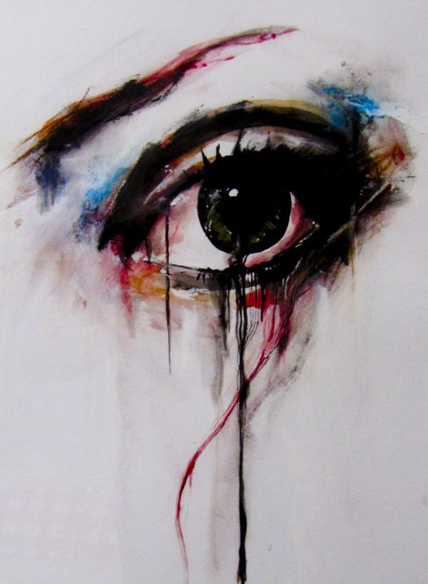 Abstract Eye Tattoo
