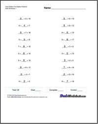 This page contains links to free math worksheets for Pre ...