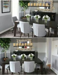 Mimi  style dining room make over find this pin and more on designing my home also hall pinterest rh