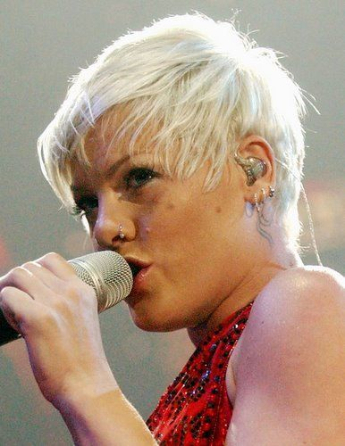 Pink Performing Live Onstage For Her Funhouse Tour Beauty