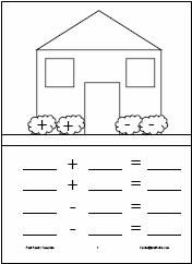 Fact Family Mats...This site has three great worksheets