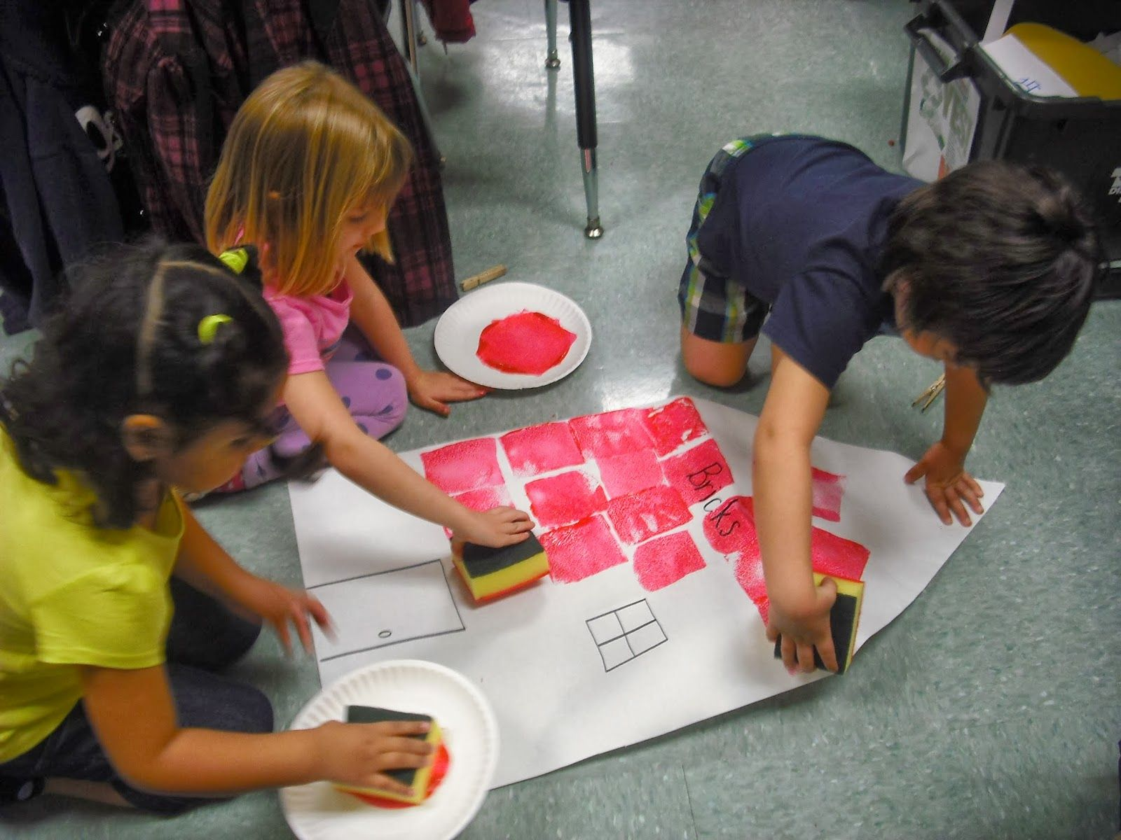 Three Little Pigs Sprinkles To Kindergarten
