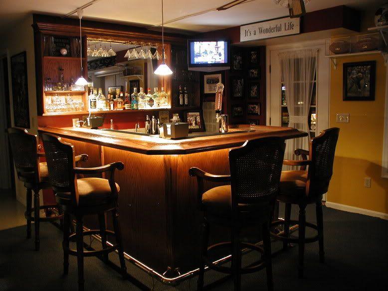 Free Home Bar Design Ideas