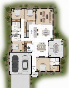colour floor plan for  home building company innisfail qld also rh za pinterest