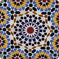 Moroccan mosaic tile table, moroccan tile table, moroccan ...