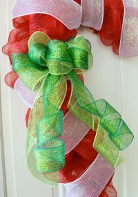 Party Ideas by Mardi Gras Outlet: Candy Cane Door ...