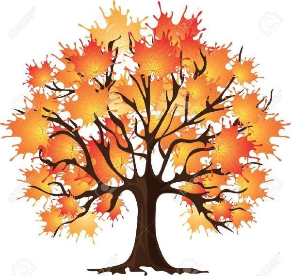 realistic fall tree drawing - google