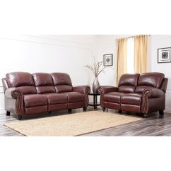 Abbyson Living Berkshire Italian Leather Sectional Sofa Charleston Z Gallerie Madison | Www.gradschoolfairs.com