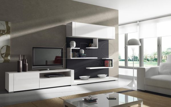 TV Wall Unit Living Room Design