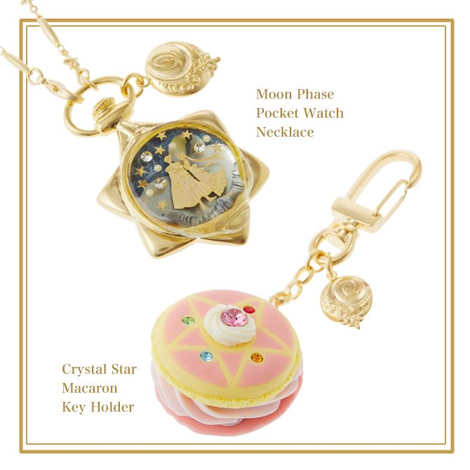 Cute Lockets Wallpaper Sailor Moon Moon Phase Pocket Watch Necklace Amp Star