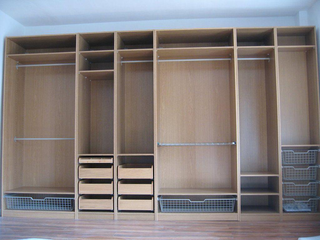 El post de los armarios Pax de ikea  Storage closets Organizations and Storage