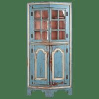 American Chippendale Raised Panel Antique Corner Cabinet ...