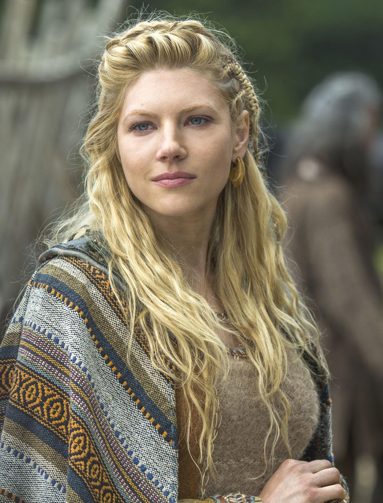 Female Viking Hairstyles Vikings Hair Front Katheryn Winnick