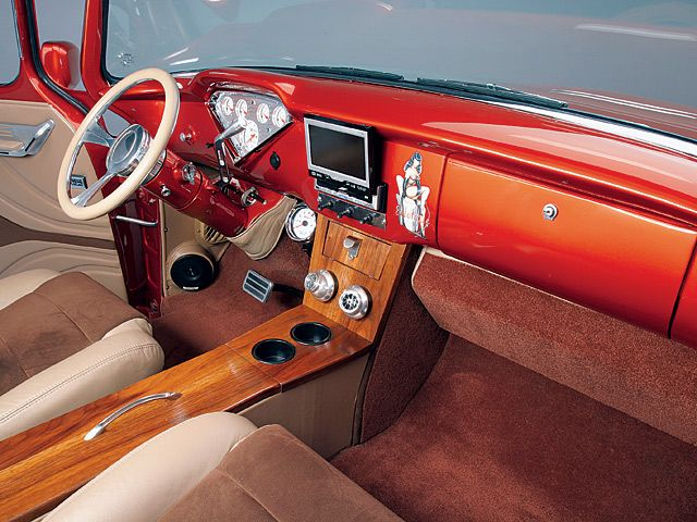 Custom Interiors Trucks Chevy 1959