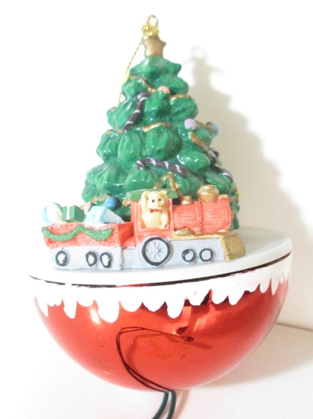 Christmas Decoration Moving Train
