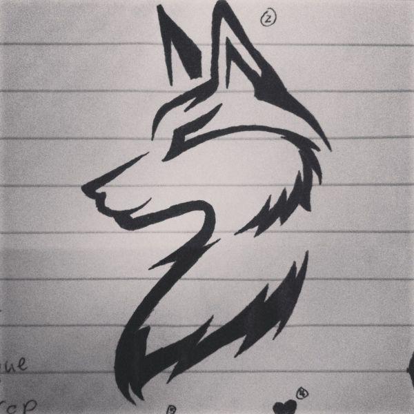 Wolf Tattoo Idea Ideas Tattoos