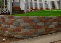 retaining wall with multi color block | ... do you like ...