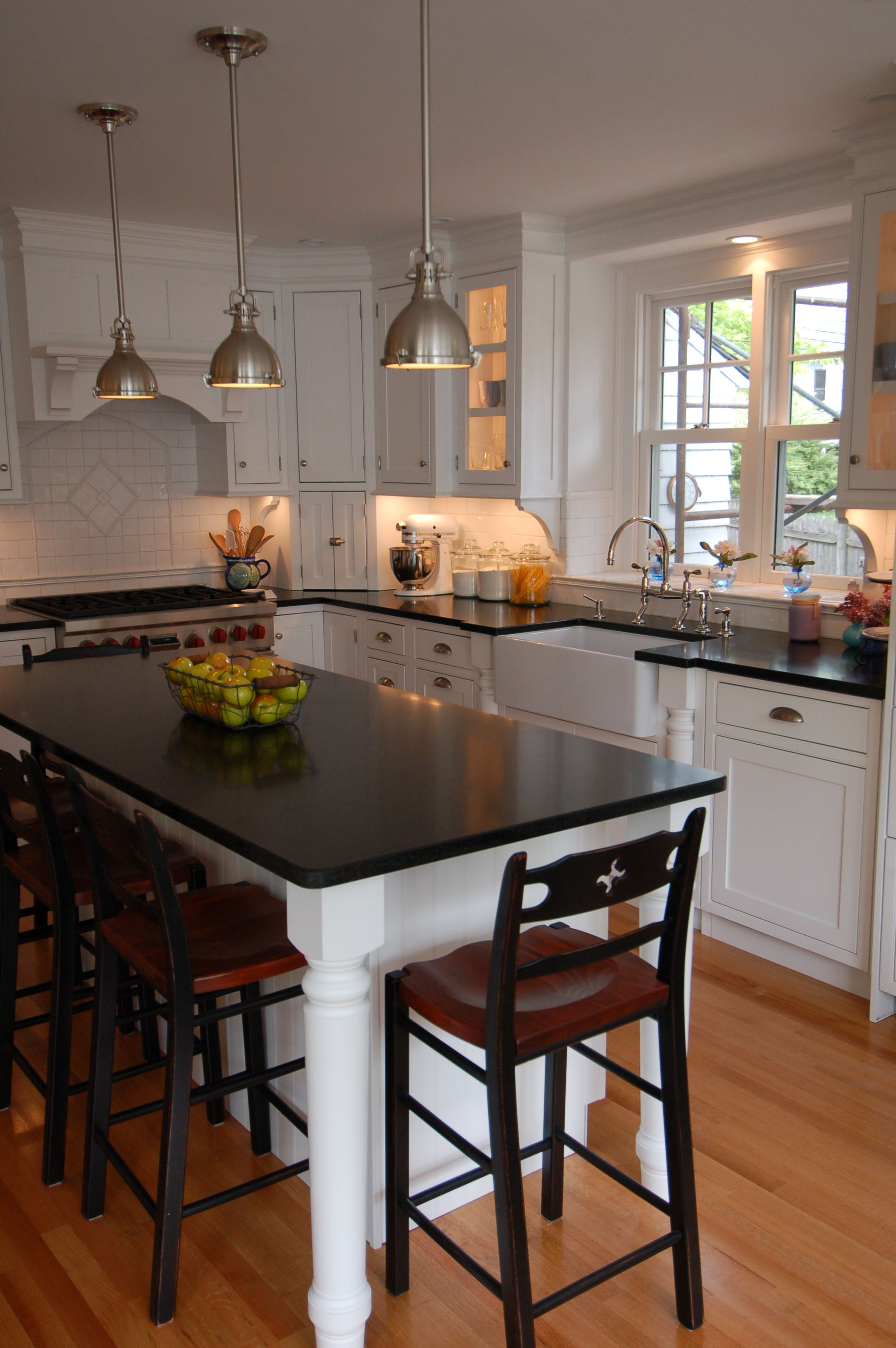 kitchen table island combo painted islands sink and stove location with lamps perfect