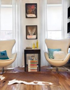 Interior design styles cool eclectic home library with lovely beige swivel lounge swan chairs also rh pinterest