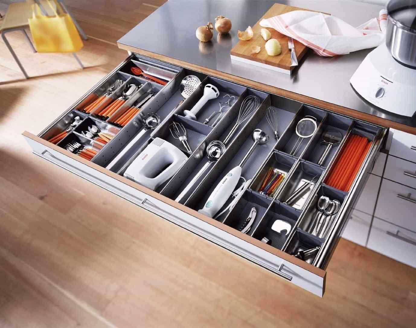 Best Kitchen Gallery: Modern Kitchen Cabi S With Drawer Dividers Modern Kitchen of Kitchen Cabinet Drawer Dividers on cal-ite.com