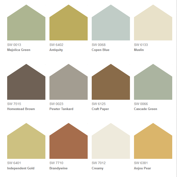 Tuscan Color Palette