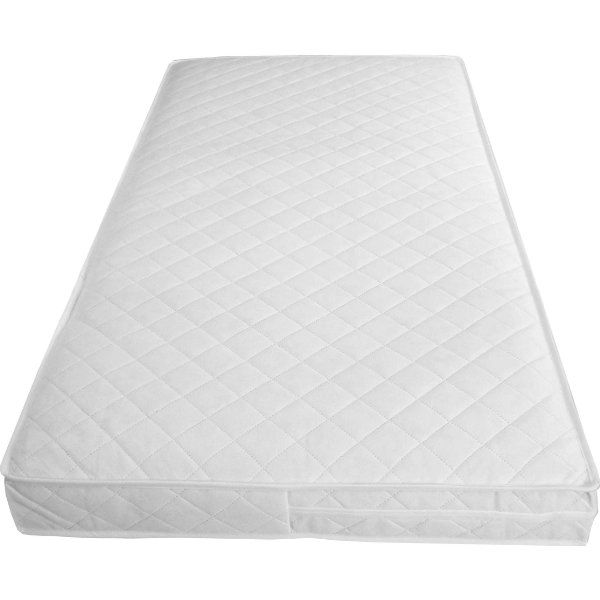 Mother Nurture Luxury Spring Cot Bed Mattress With Tape Edges Thick Fits Mothercare And Mamas Papas Sizes