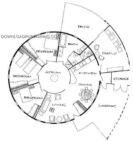 ROUND HOUSE PLANS Astuonkampis Pinterest House Plans Lakes