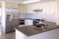 Kitchen Room : 2017 White Kitchen Cabinets Quartz ...