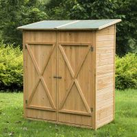 Outdoor Storage Cabinet Wood | Outdoor Cabinets ...